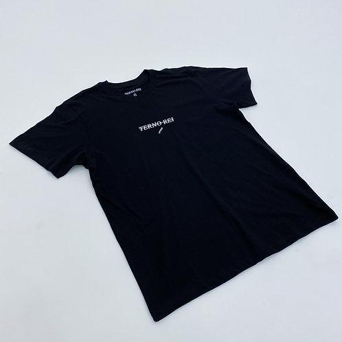 Camiseta Terno Rei Logo Preta