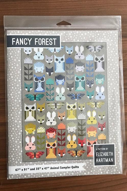 Fancy Forest Quilt Pattern Book