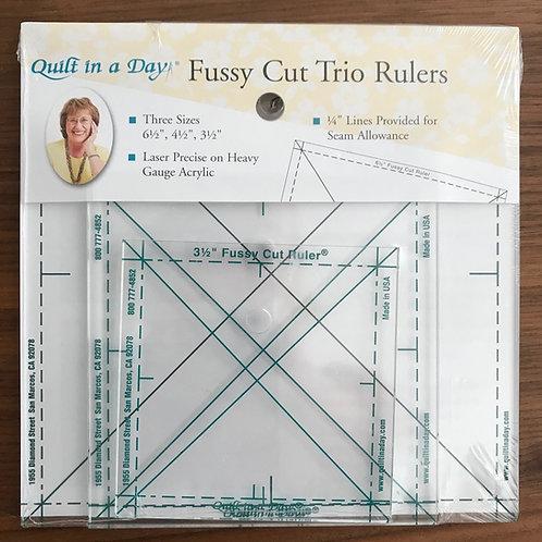 Fussy Cut Trio Rulers
