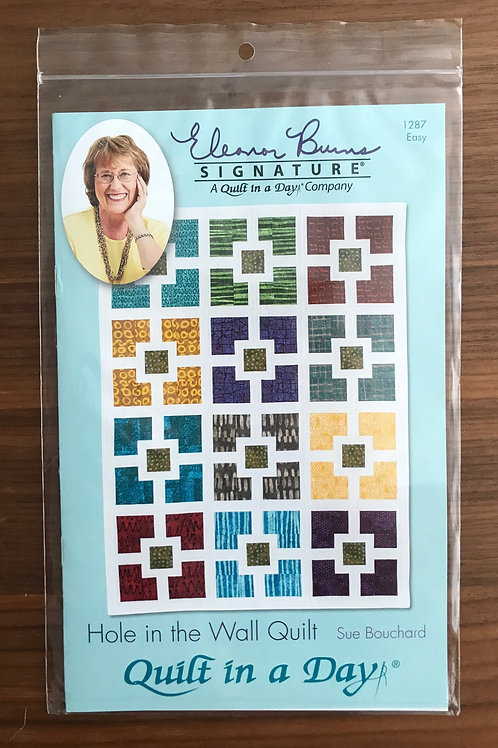 Signature Patterns - Hole in the Wall Quilt
