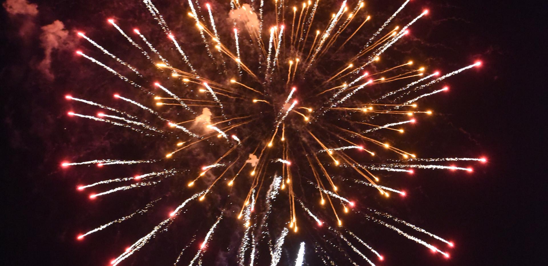 Lights on the Lake fireworks