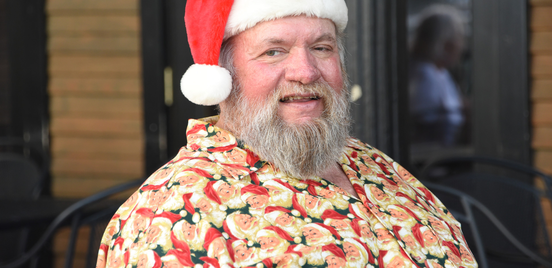 Santa's summer visit to Sherman