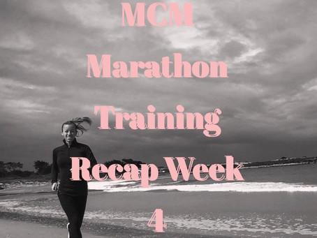 Marine Corps Marathon Training - Week 4