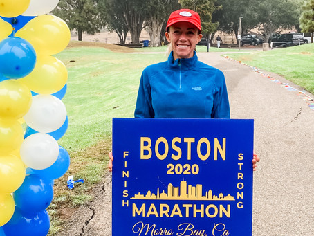 Virtual Boston Marathon Recap