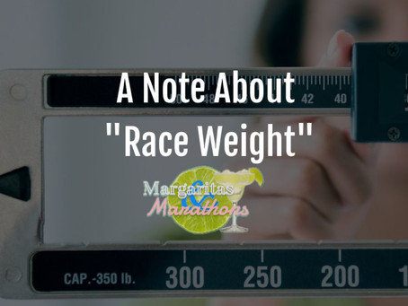 """A Note About """"Race Weight"""""""