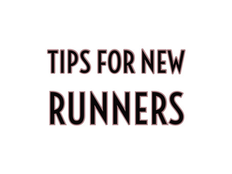 Things I wish I knew as a new runner...