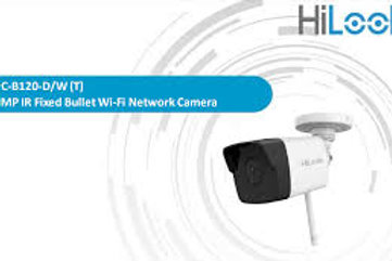 HILOOK IPC-B120-D/W 2 MP 4MM H265+3.6 MM LENS 30MT IP BULLET KABLOSUZ KAMERA