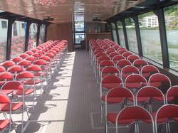 Intérieur des bateaux