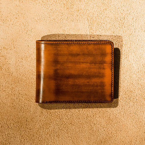 Oliver Signature Leather Wallet in Antique Brown