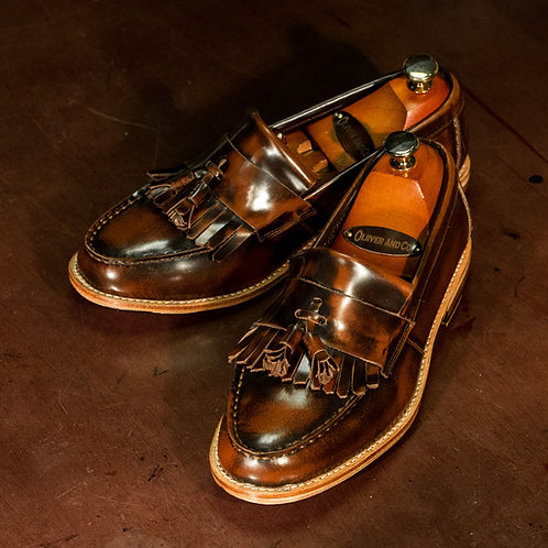 OC 012 - Tassel Classic Loafers in Antique Brown