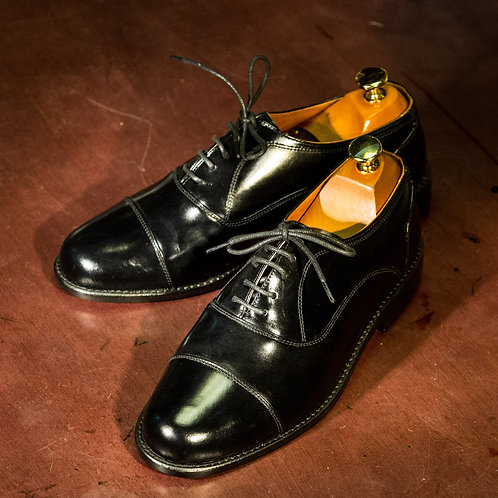 OC 007 - Laces Cap Toe in Black