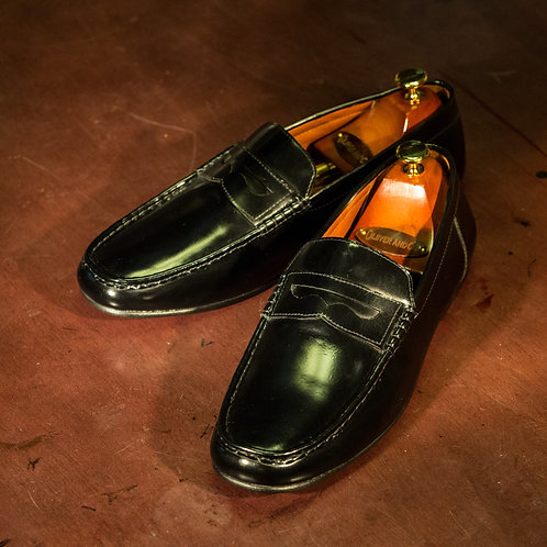 OC 002 - Penny Loafers in Black