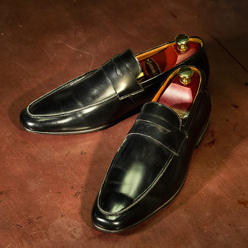 OC 005 - Penny Loafers with Mask in Black