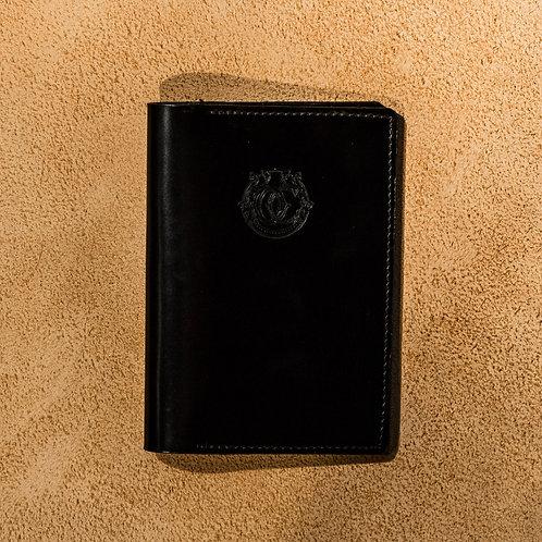 Oliver Signature Passport Holder in Black