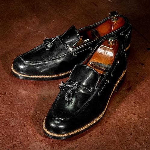 OC 008 - Tassel Loafers in Black