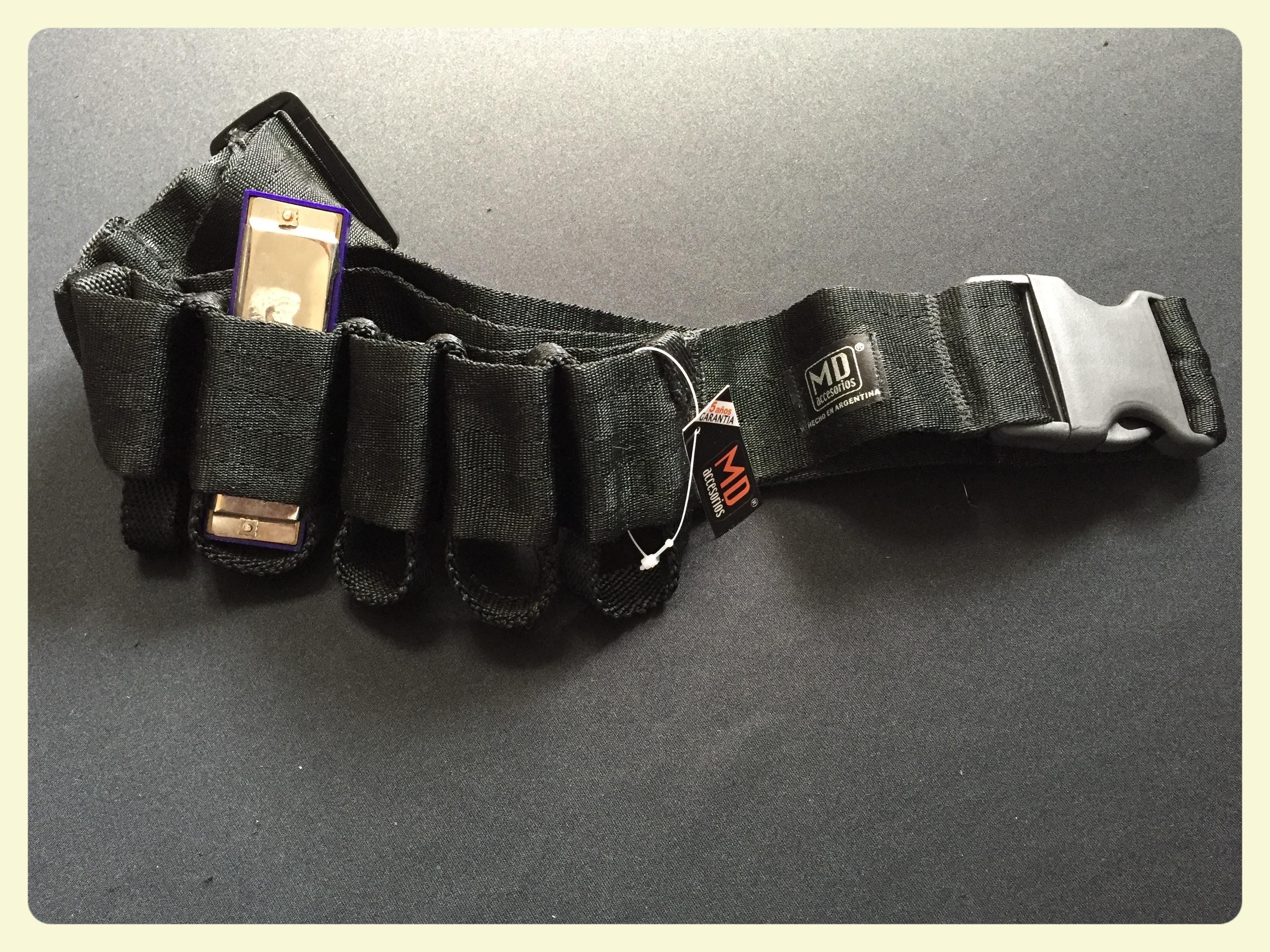 cinturón para armónicas