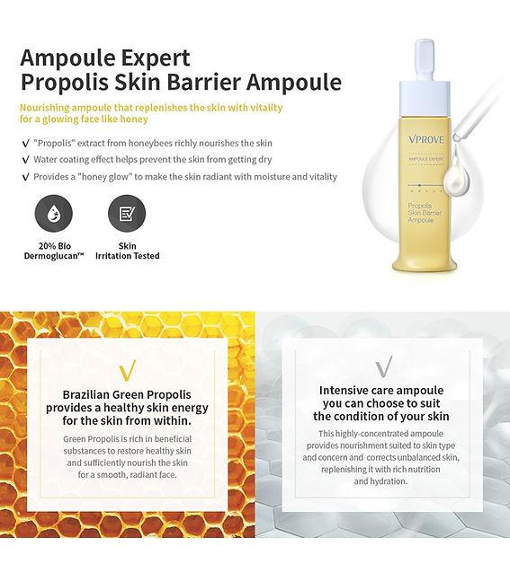 REVIEW: VPROVE - Ampoule Expert Propolis Skin Barrier Ampoule