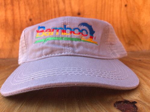 BambooAfrika grey tropical trucker cap