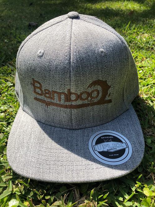 BambooAfrika XL/L earth light grey original BambooAfrika logo Uflex cap