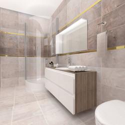 Bathroom for 4+1 Flat