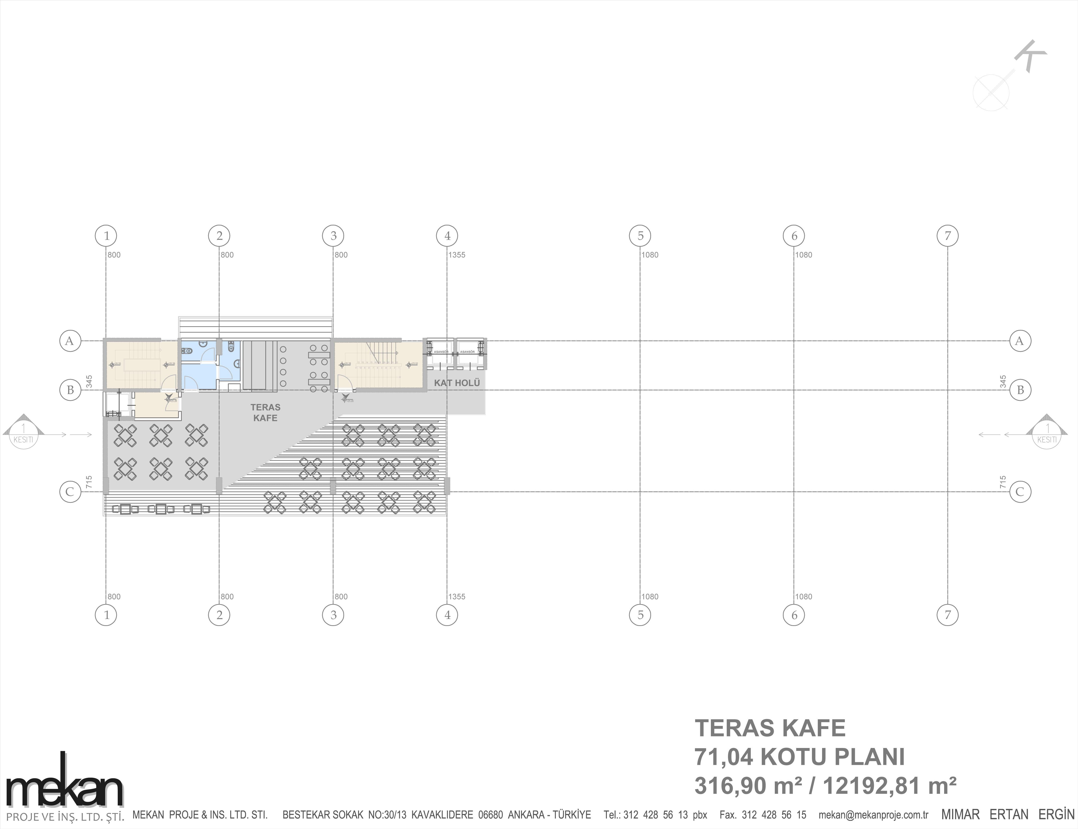 Terrace Cafe Plan