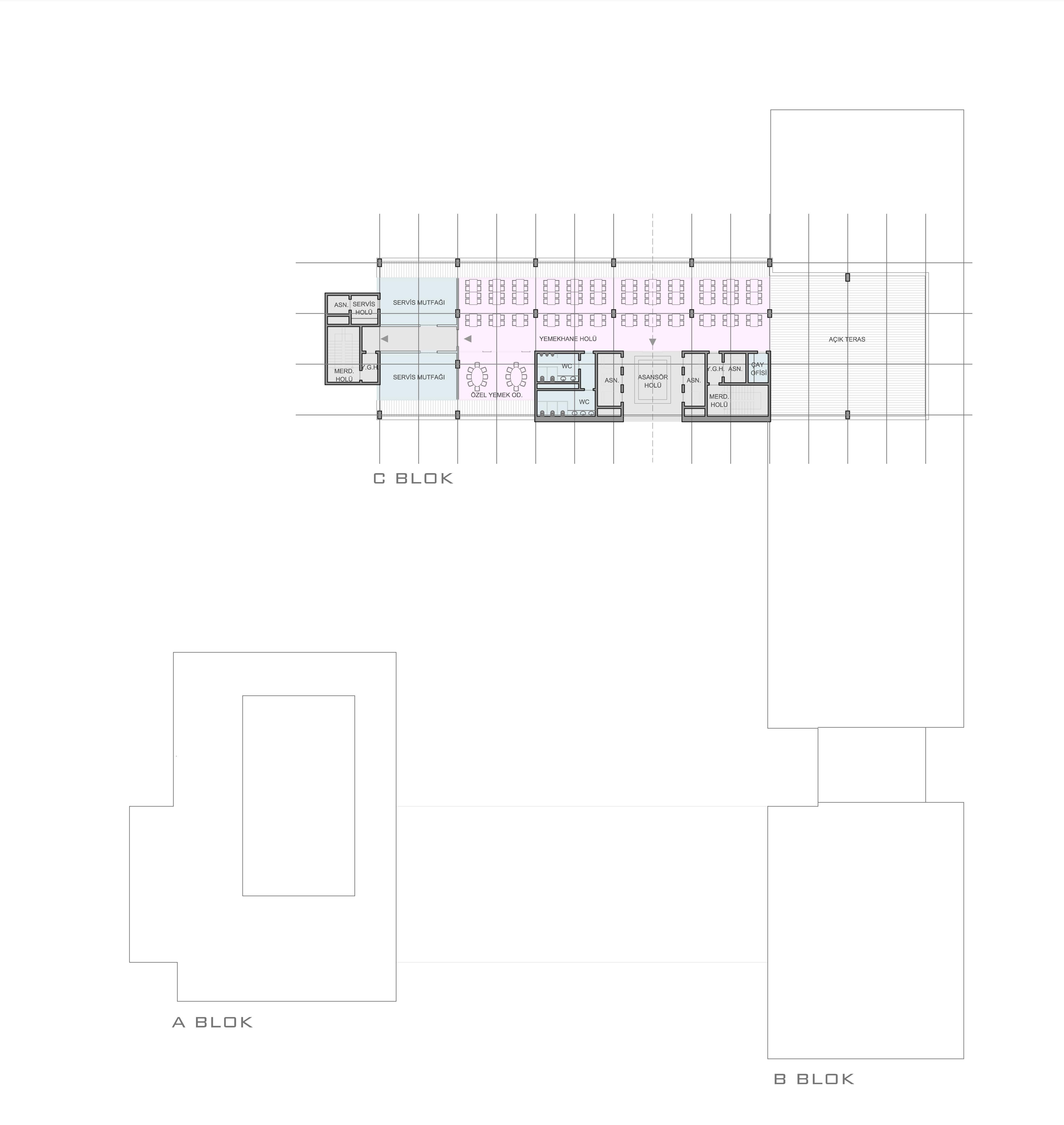 21. Kat Planı