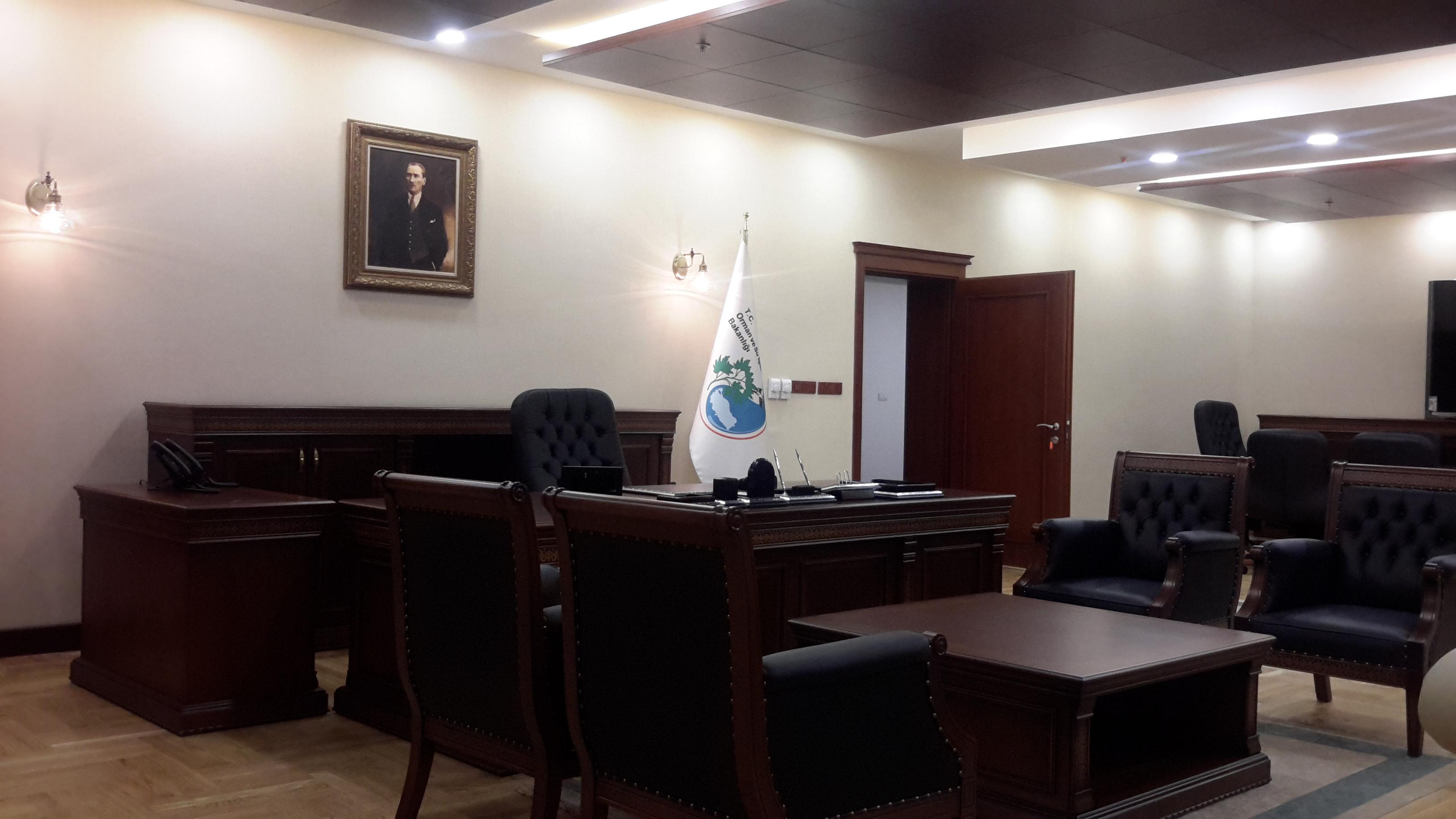 Bakan Odası Fotoğrafı