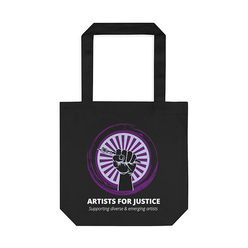 Official Artists For Justice Tote Bag