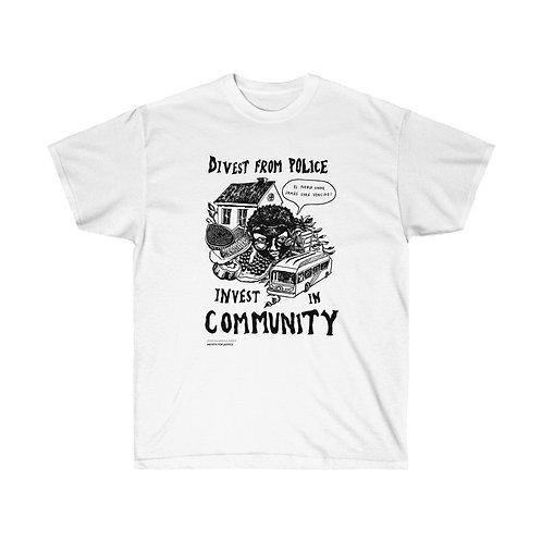 Community Over Cops T-Shirt