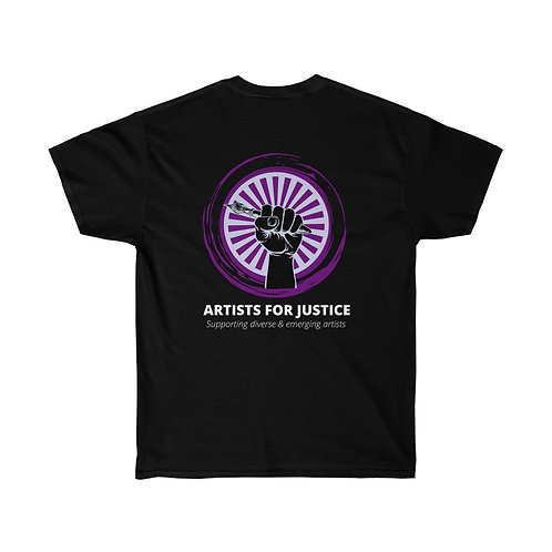 Official Artist For Justice T-Shirt