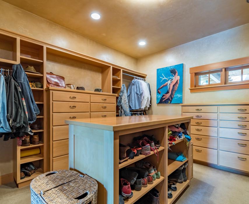 Walk-in Closet - Owner's Suite
