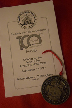 The mass program and medallion - small size