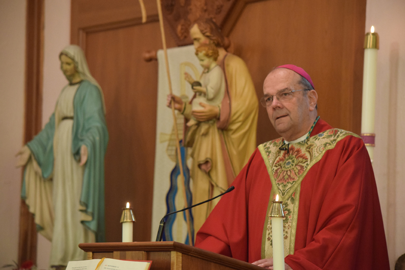 Bishop's homily - small size