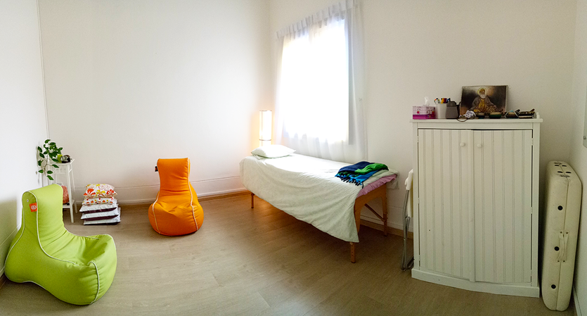Healing Room for Reiki & Small Classes