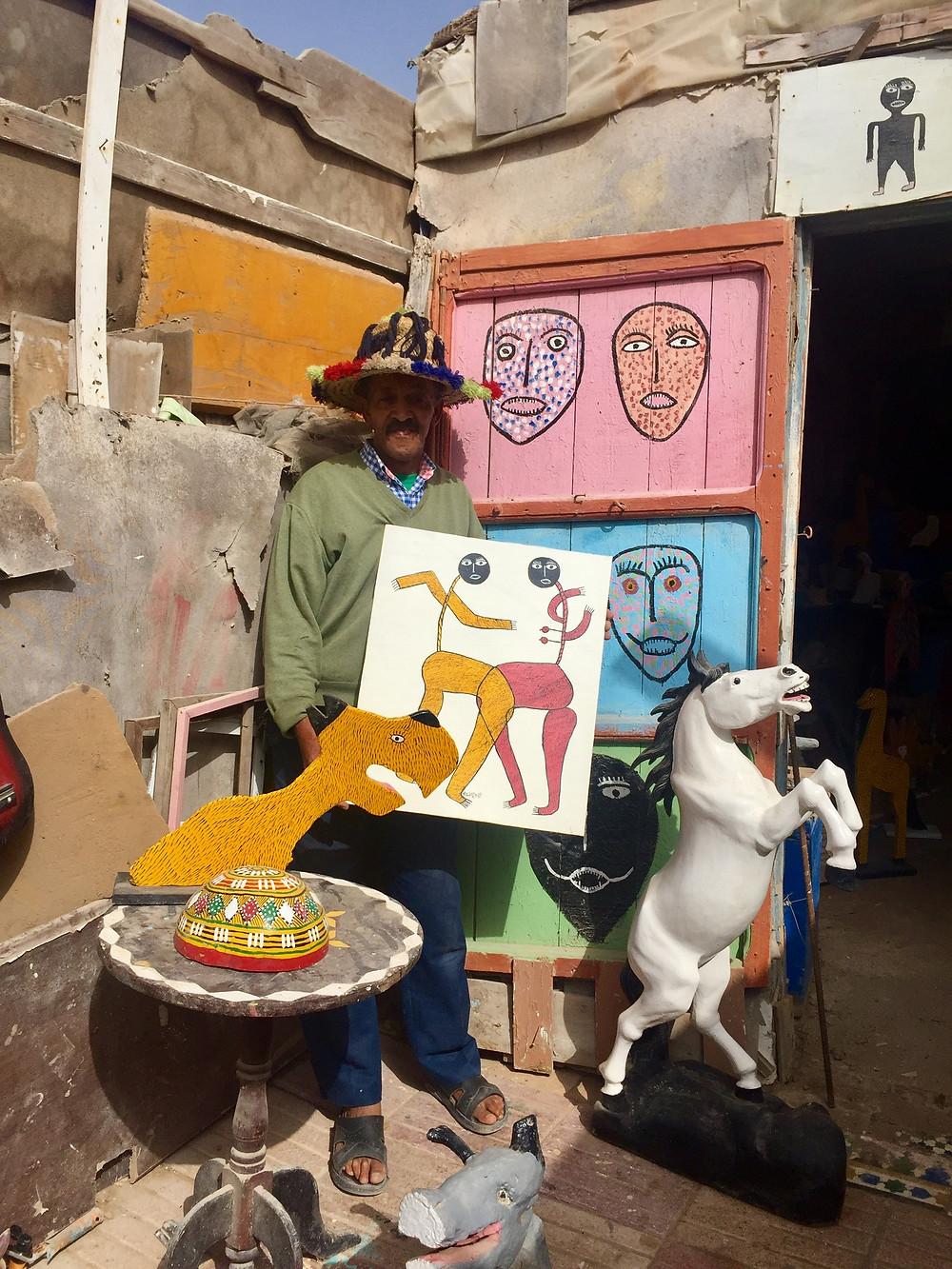 Azzddinn Nassik / la joutia Essaouira / le consulat essaouira