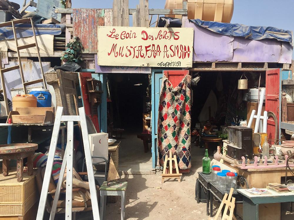 Mustapha ASMAH / la jutia essaouira / riad le consulat