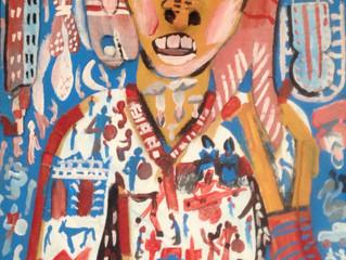 Mohamed TABAL / Peintre Gnaoua /     Peintre de l'Errance