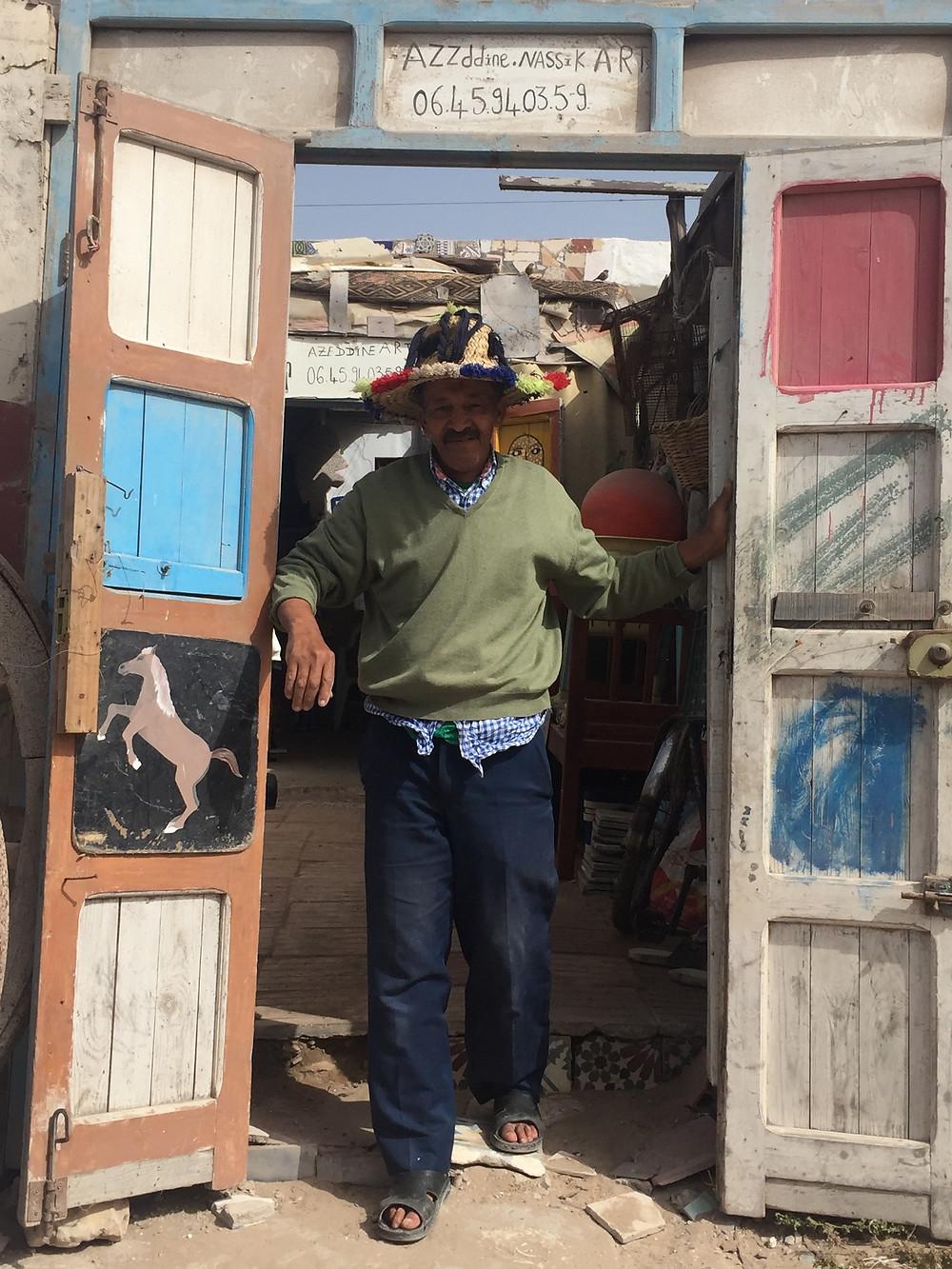 Azzddin Nassik / la jutia Essaouira / riad le consulat