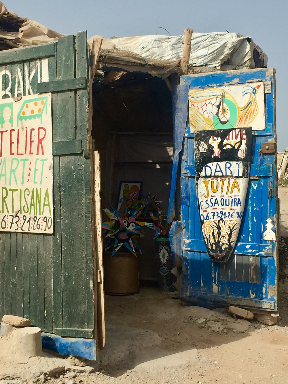 Baki/ la joutia Essaouira / riad le consulat