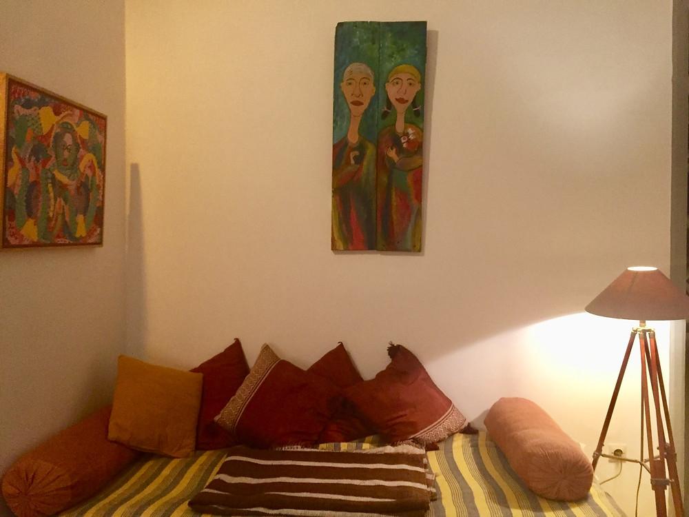 Salon riad le consulat Essaouira / location de vacances