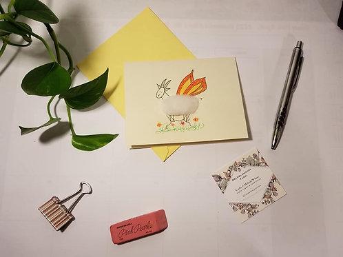 Handmade Goaterfly Cards