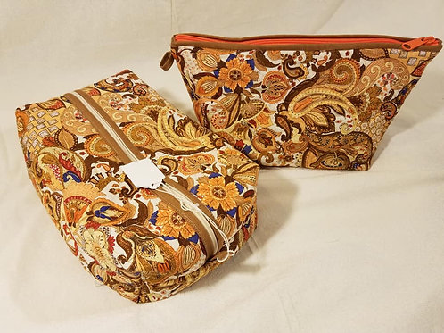 Paisley Quilted Travel Bag