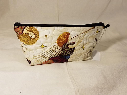 Angel Quilted Travel Bag
