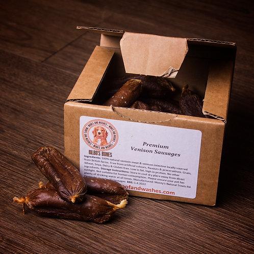 Bilbo's Bones - Premium Venison Sausages