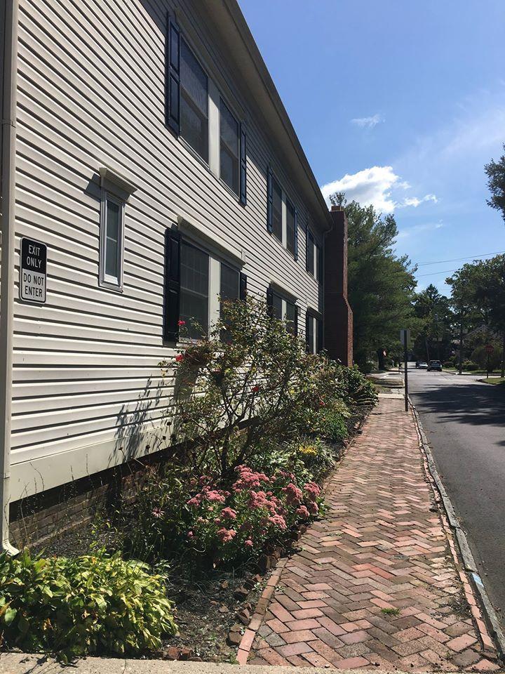 Walkway/Side of Building
