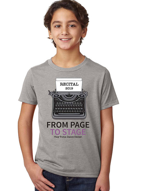 2019 Youth Recital T-Shirt