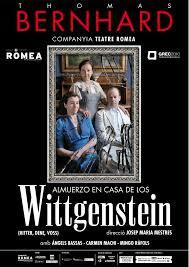 Almuerzo en casa de los Wittgentein, De T.Bernhard. Teatro Romea. Con Carmen Machi. 2010