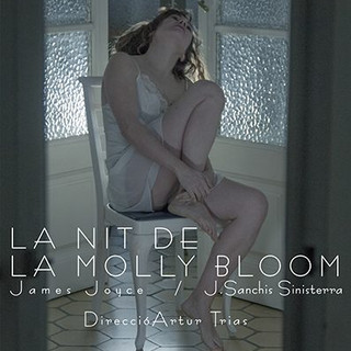 Molly Bloom de J.Joyce/Sanchis Sinisterra. Teatro sala Muntaner. 2018. Dir. Artur Trias.