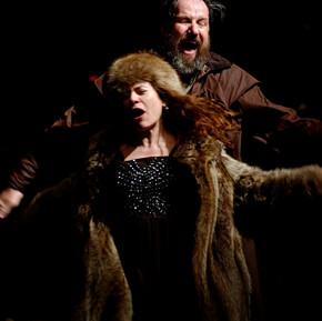 El Rei Lear, Shakespeare. Con Jose Maria Pou. Dir.Calixto Bieito. 2005
