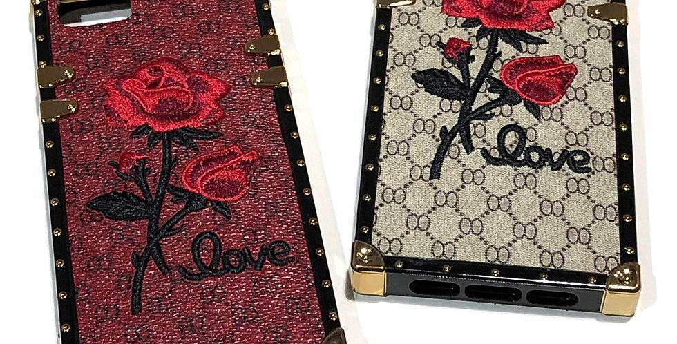 Rose Flower Luxury iPhone Case